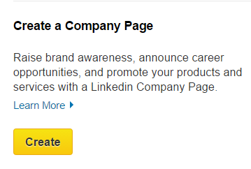 Setting up your LinkedIn company page