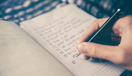 keyword checklist for business website content