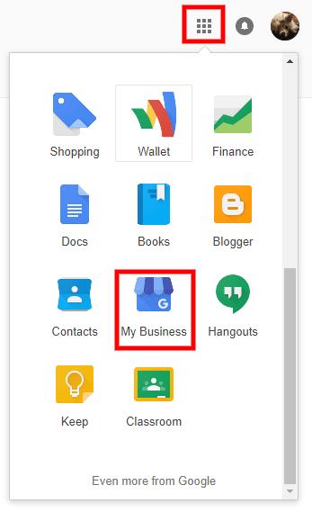 manage Google business listing